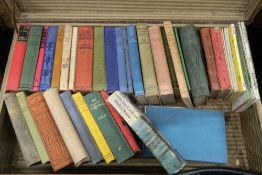 A case containing various books