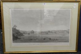 Two 19th century engravings, Vue de Keffeli-Kieui,