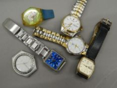 A quantity of wristwatches including Lorus,