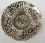 A Chinese circular dish. 10.5 cm diameter.