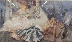 WILLIAM RUSSELL FLINT (1880-1969) British, Corisande, limited edition print, numbered 558/850,