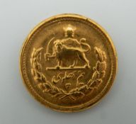 An Arabic Pahlavi coin