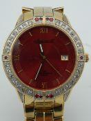 An Ingersoll 1G011 HF stainless steel 100 metres water resistant gentleman's wristwatch.