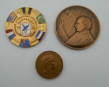 Three various medallions