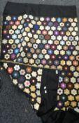 A vintage patchwork quilt