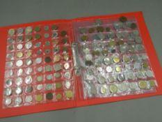 An album of coins