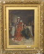 GEORGE SHERIDAN KNOWLES (1863-1931) British, An Impromptu, oil on canvas, signed, framed.