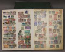 Four stamp albums