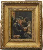 Two German oil on boards Portraits, signed Gruber ,