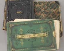 Three Victorian albums of crests