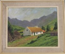 A R DUGMORE, Irish Scene, oil on canvas, signed, framed. 49 x 40 cm.