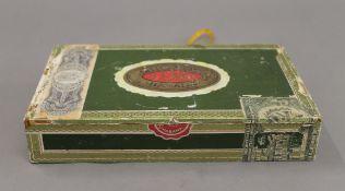 Bonnie and Clyde, 20th century, cigar box diorama, All Eyes. 22 cm wide.