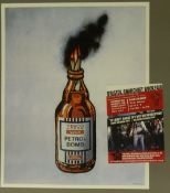 BANKSY (20th/21st century) British, Tesco Value Petrol Bomb 2011, offset lithograph on paper,