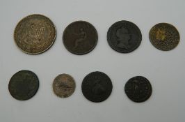 A small quantity of various coins