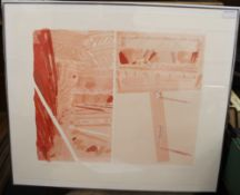JOHN LOCKER (born 1938), Littered Ways, screen print, numbered 42/50, signed and dated 83 to margin,