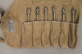 A set of six Apostle spoons. Each approximately 12 cm high.
