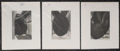 MARY SEYMOUR, Anish Kapoor's Marsya's, Tate Modern 2003 I, print, signed in pencil to margin,