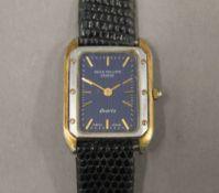 A Patek Philippe ladies wristwatch. 2 cm wide.