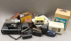 A quantity of various cameras, etc.