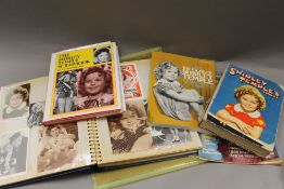 A collection of Shirley Temple memorabilia