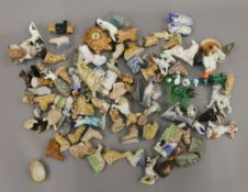 A quantity of Wade Whimsies, etc.