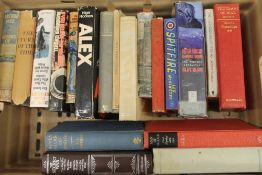 A collection of military history and related books