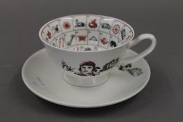 The Romany Fortune telling teacup.