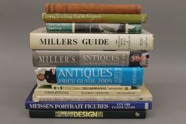 A collection of Art and Antique reference books