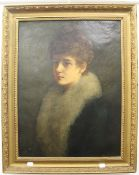 BLANCHE MACCARTHUR (exhibited 1880-1903), Portrait of a Lady, signed and dated 1889, oil on canvas,