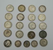 A small quantity of British coins