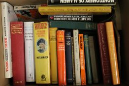 A quantity of books pertaining to military subjects