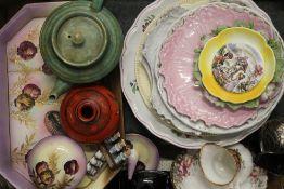 A quantity of ceramics, etc.