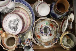 A quantity of decorative porcelain