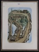 GLYNN THOMAS, Thaxted, limited edition print, signed in pencil to margin, numbered 25/75,