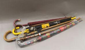 A vintage shooting stick,