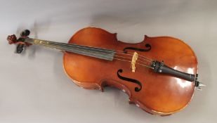 A cello. Approximately 107 cm high.