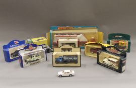 A small quantity of Die Cast vehicles
