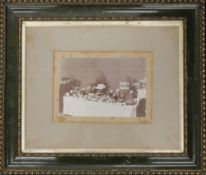 A Victorian photograph of The Chester Annual Dairy Show, framed and glazed. 20.5 x 14 cm.
