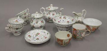 A small quantity of miscellaneous ceramics