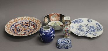 A quantity of Chinese and Japanese porcelain