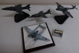Diverse Images Aircraft Collection hand crafted English pewter model of Focke'wolf, Corgi model of a