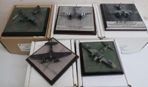 Diverse Images Aircraft Collection hand crafted English pewter model of Mosquito NFX11 85