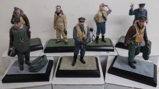 Diverse Images Aircraft Collection hand crafted English pewter model of Douglas Bader c.1940 Ltd.