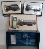 Two Corgi vintage Glory Of Steam, Foden and Centinal Ltd ed. 80204 and 80001, and a Corgi Passage Of