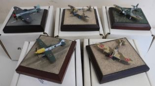 Diverse Images Aircraft Collection hand crafted English pewter model of Tempest 501 Squadron