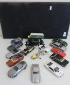 The Definitive Bond Collection of Corgi 007 die-cast unboxed vehicles on display stand (16)