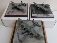 Diverse Images Aircraft Collection hand crafted English pewter model of Lancaster B111 Special 617
