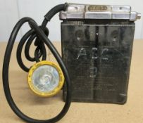 Oldham Type T electric miners lamp No. 1083
