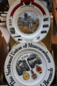 Collection of NUM and other mining related plates, some boxed (17)