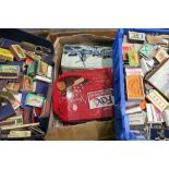Large collection of various assorted vintage Matchboxes and Matchbox covers